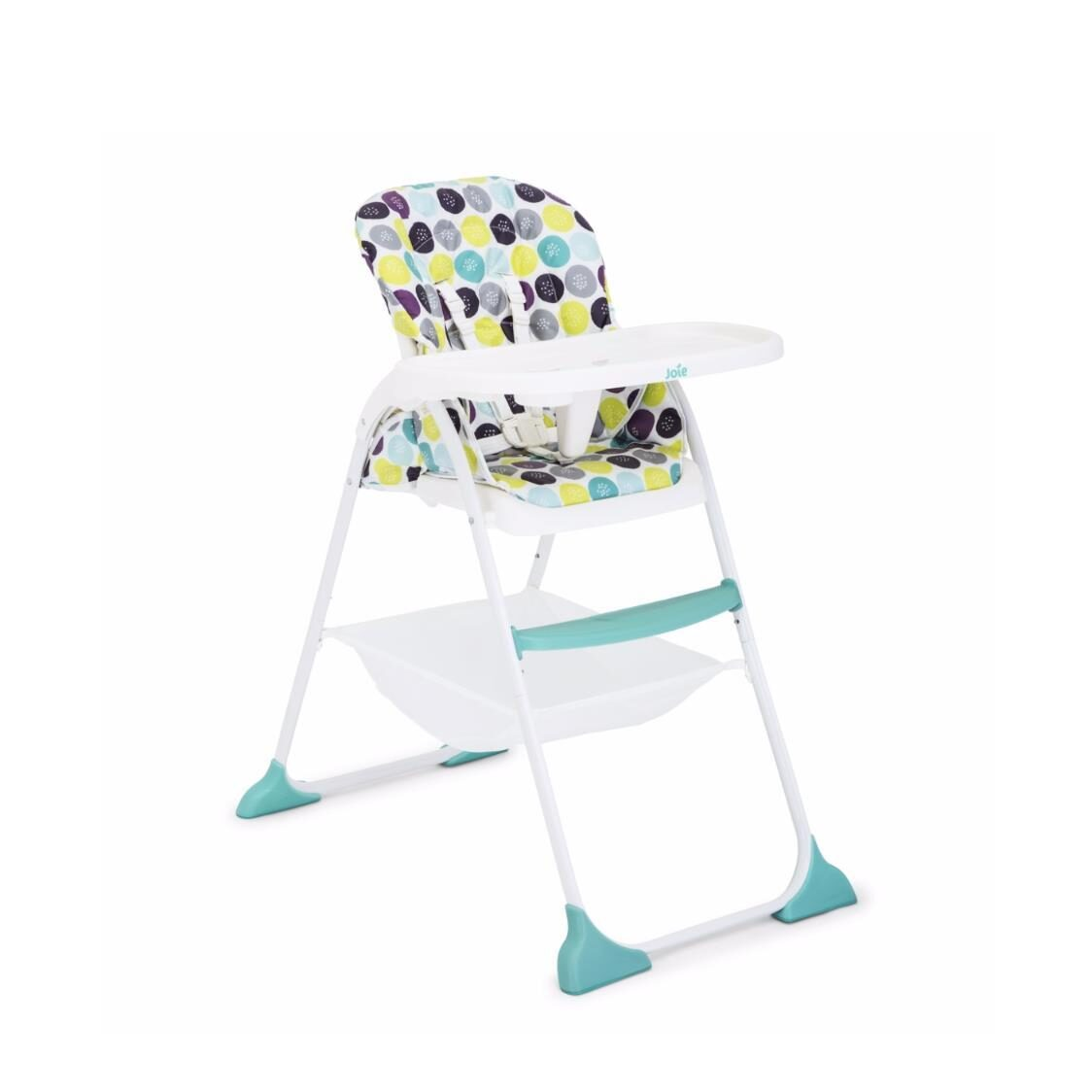 Mimzy Snacker HighchairOne hand fold Compact 3 position seat recline