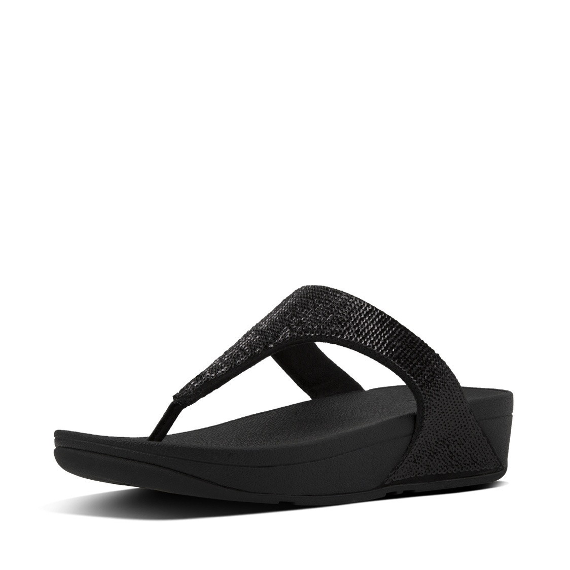 Electra Sequin Toe-Thong Sandals