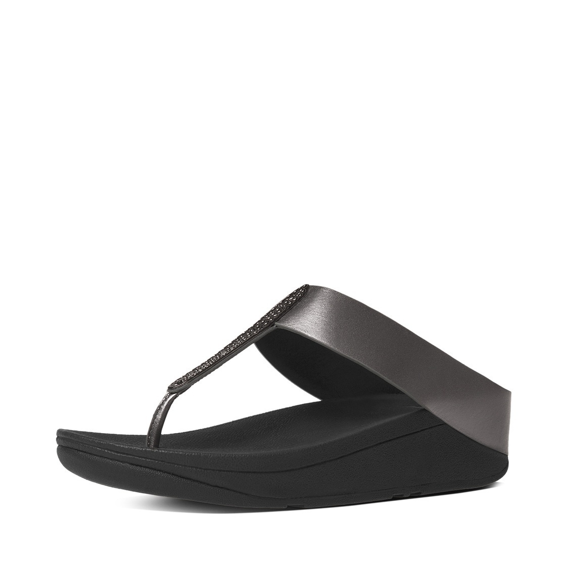 Barrio Leather Toe-Thong Sandals