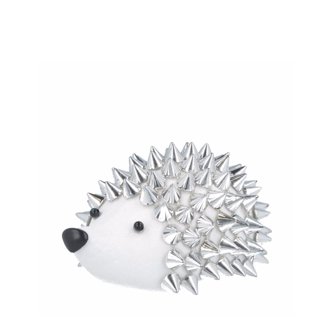 Hedgehog with Spikes Silver