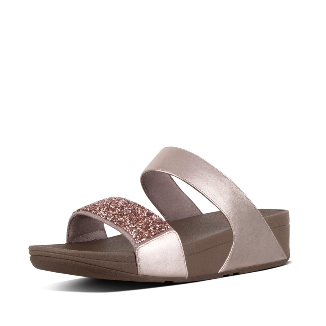 Sparklie Crystal Slide Sandals