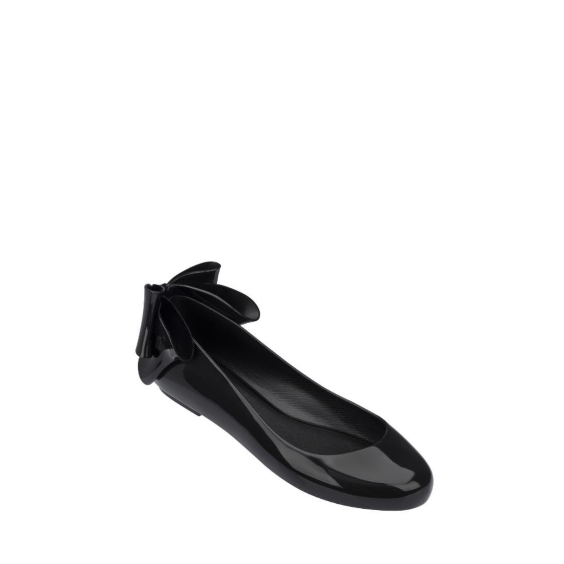 Space Love Bow Flats Black