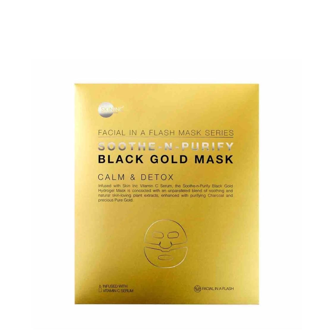 Soothe-n-Purify Black Gold Mask single
