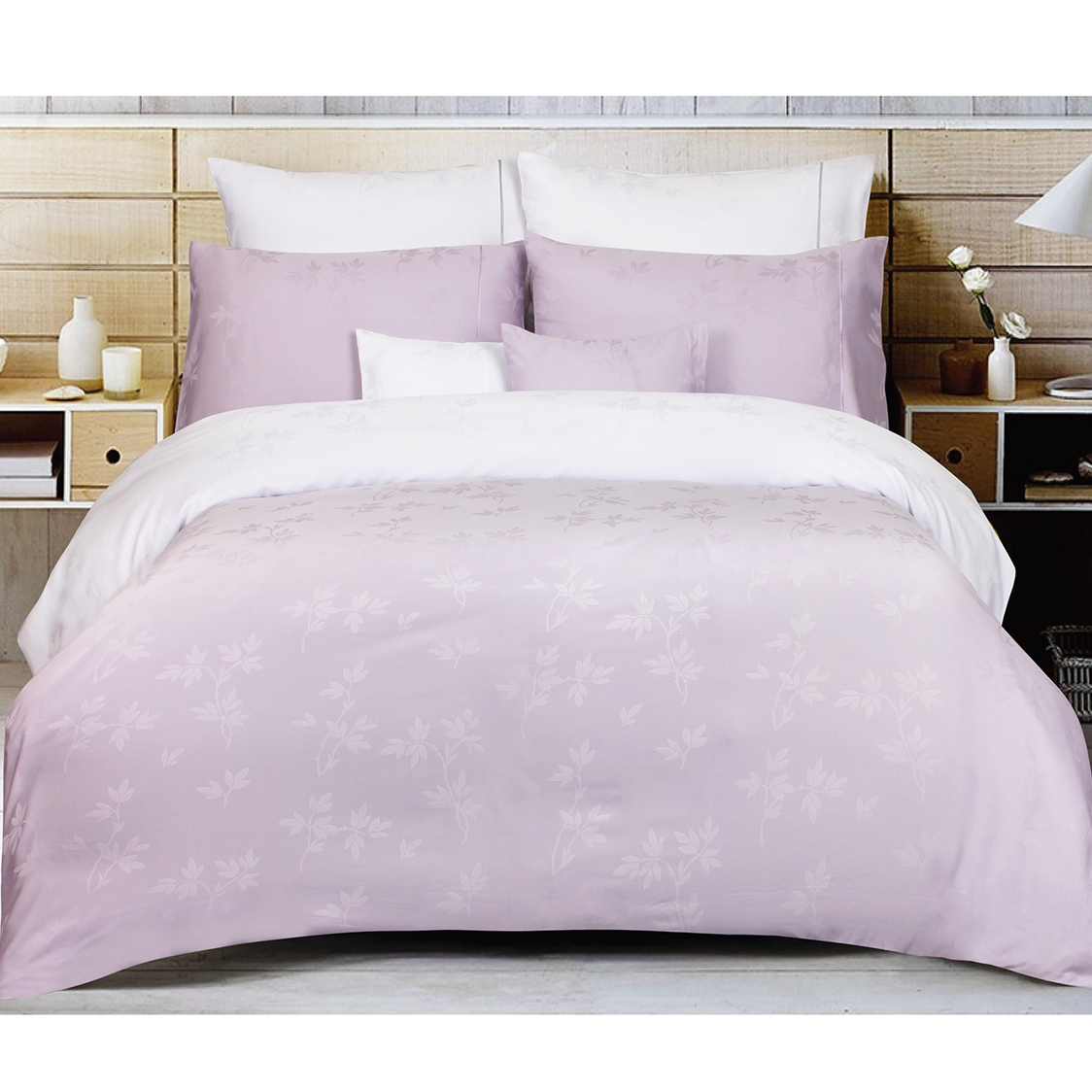Celestine Bamboo Micro Modal Breeze Fitted Sheet Set Lavender