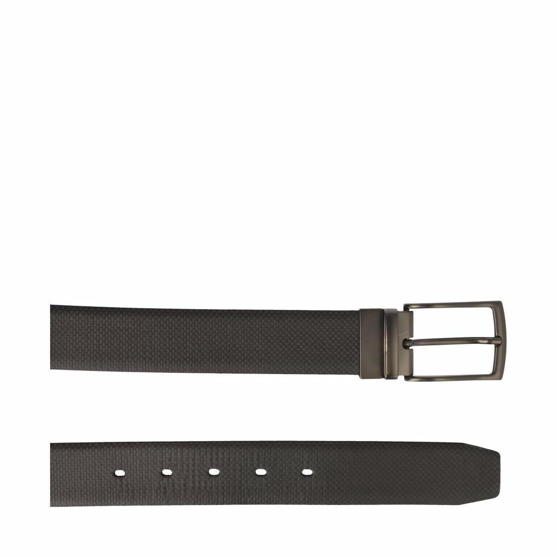 Leather Belt In BlackBlue