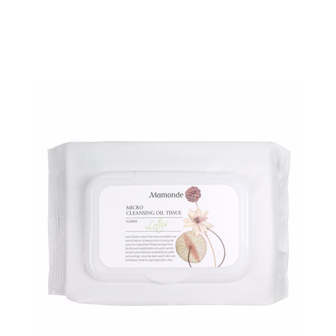 Lotus Micro Cleansing Oil Tissue