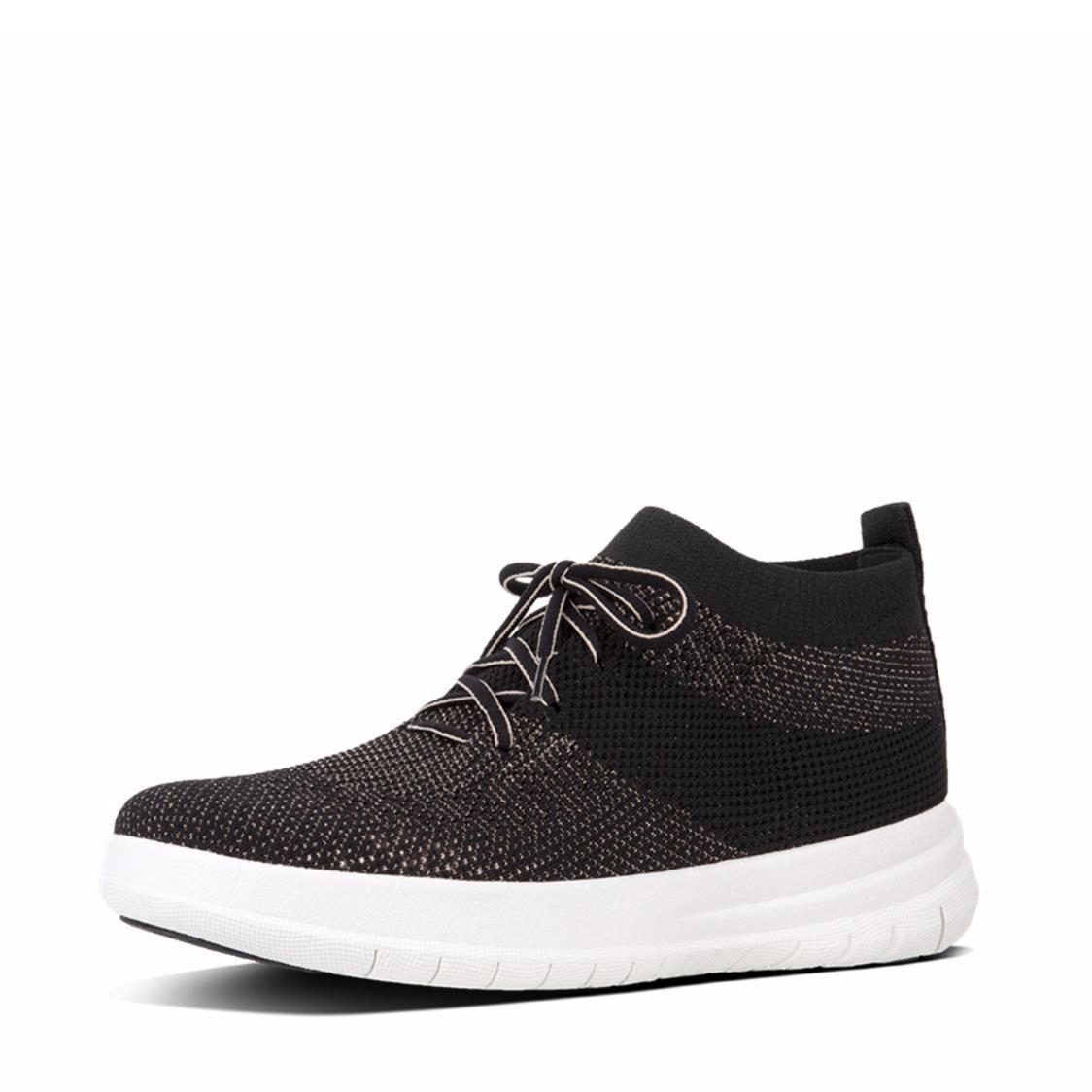 berknit Slip-On High-Top Sneakers