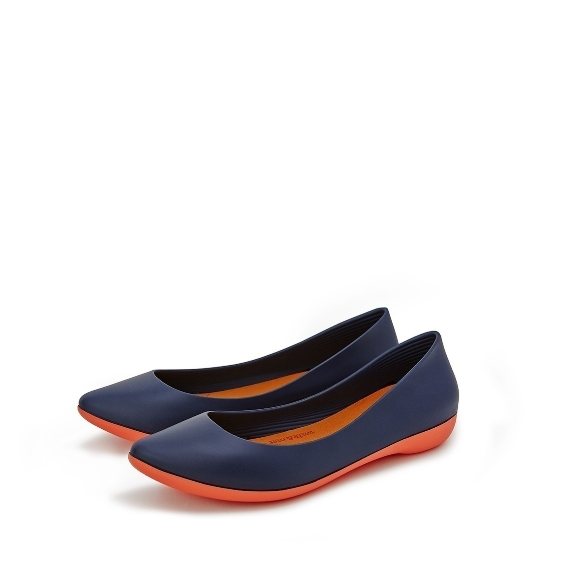 F2 Flat-Pointed Heel height 2cm Deep Navy