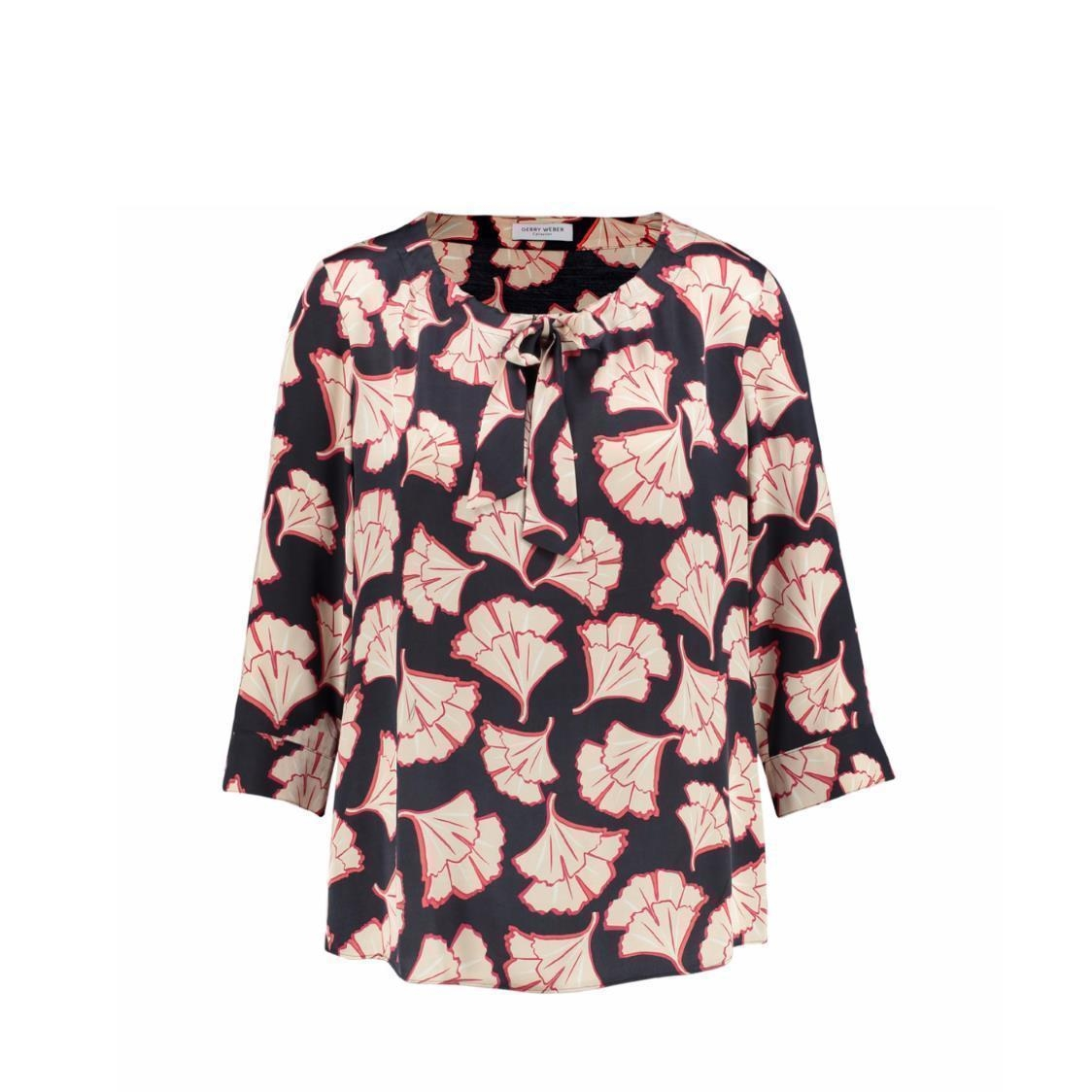34 Sleeve Blouse with Bow