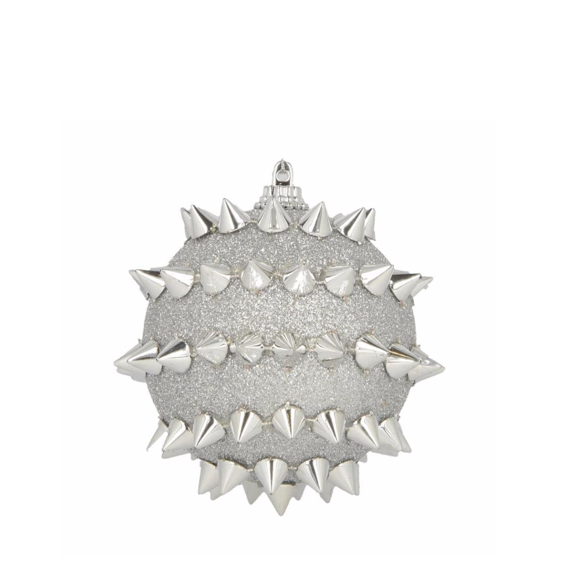 Ornanment with Spikes Silver