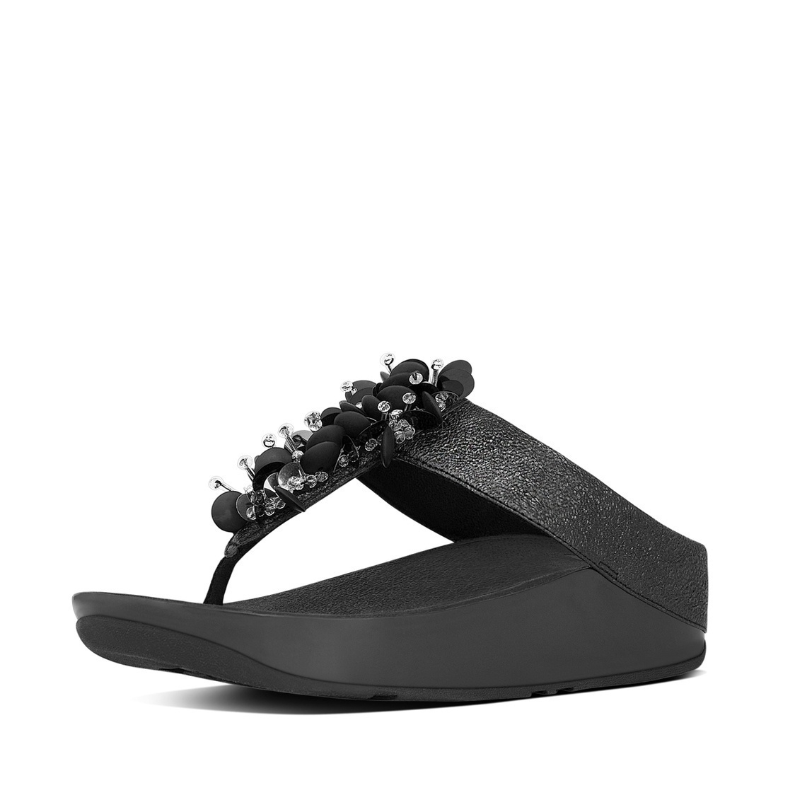 Boogaloo Leather Toe-Thong Sandals