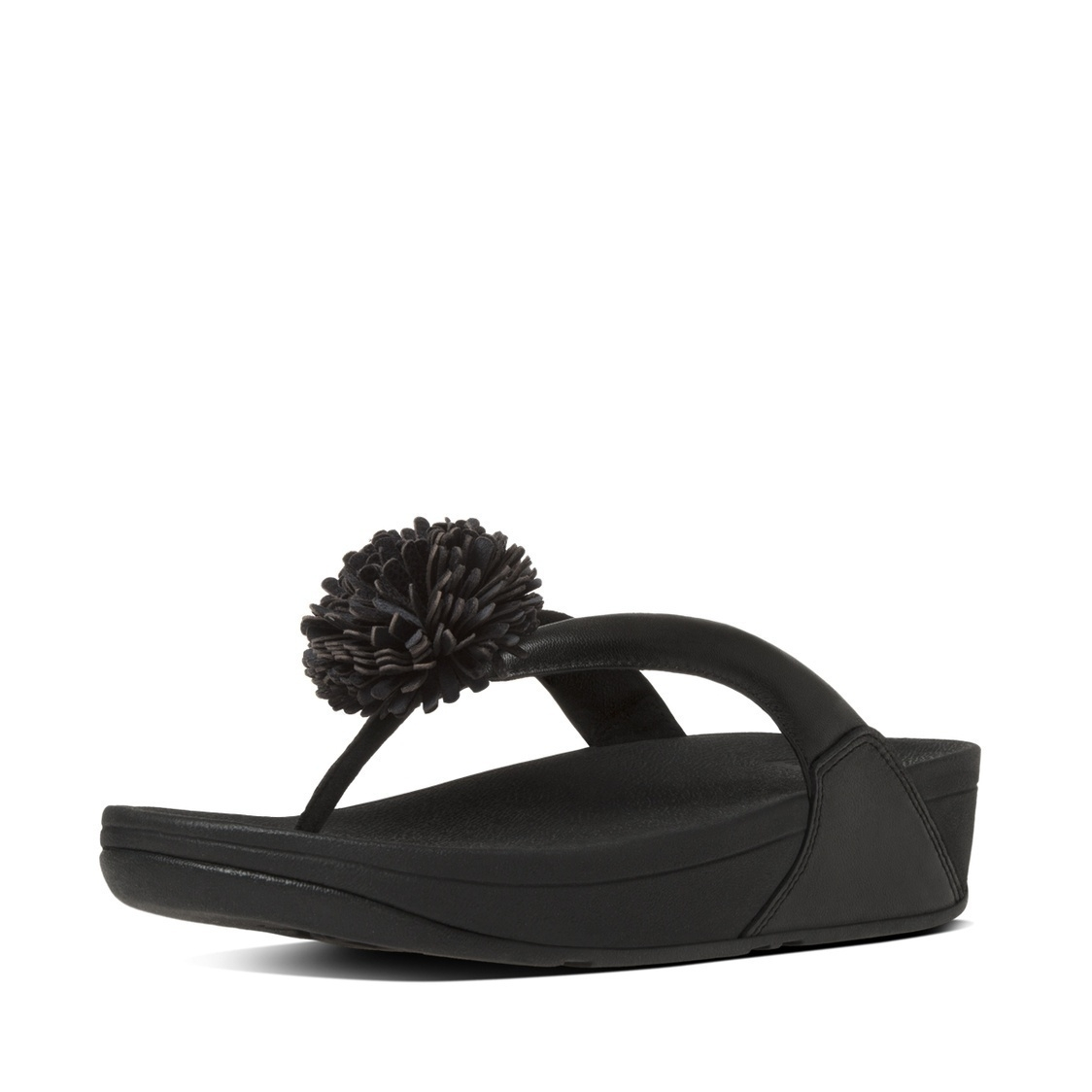 Flowerball Leather Toe-Thong Sandals