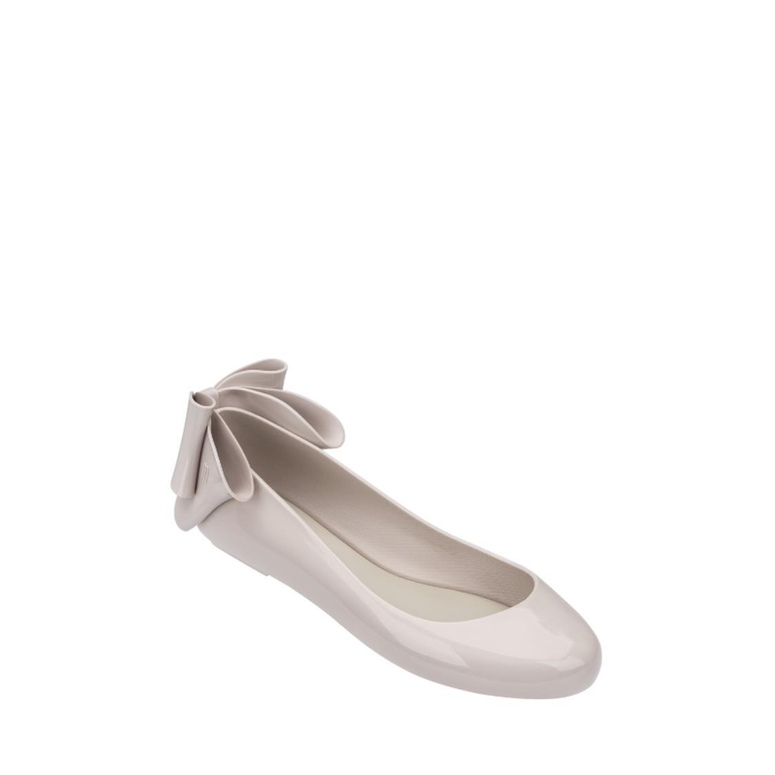 Space Love Bow Flats Beige