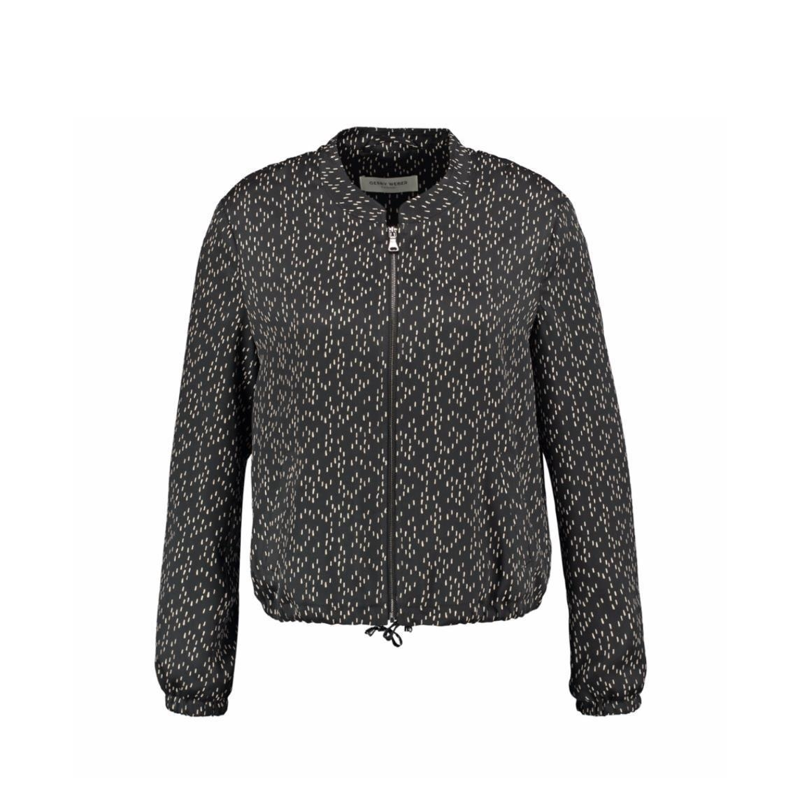 Bomber Jacket with Smart Pattern