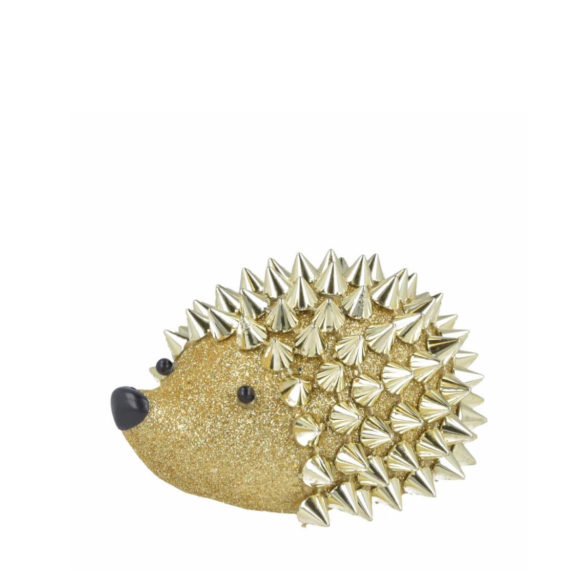 Hedgehog with Spikes Gold