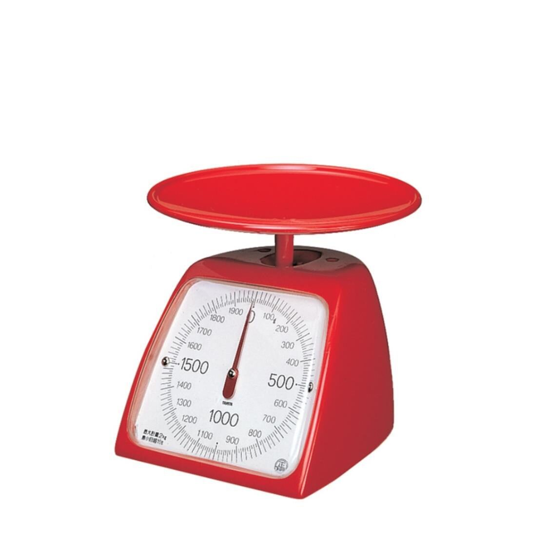 Mechanical Kitchen Scale Red 1348