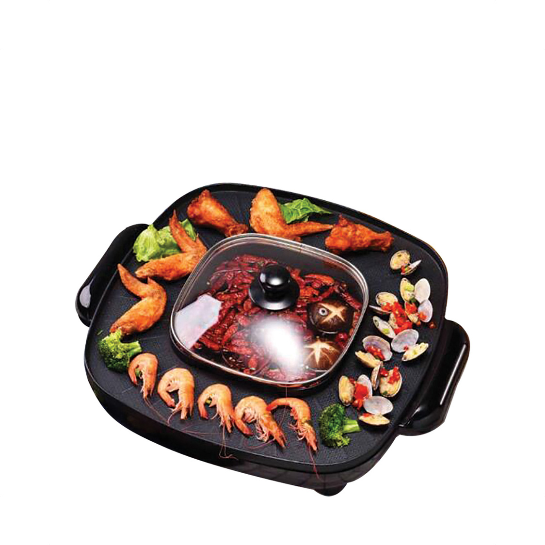 Mayer 18L Steamboat with Grill