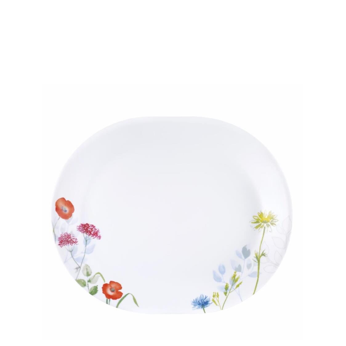 Serving Platter Daisy Field