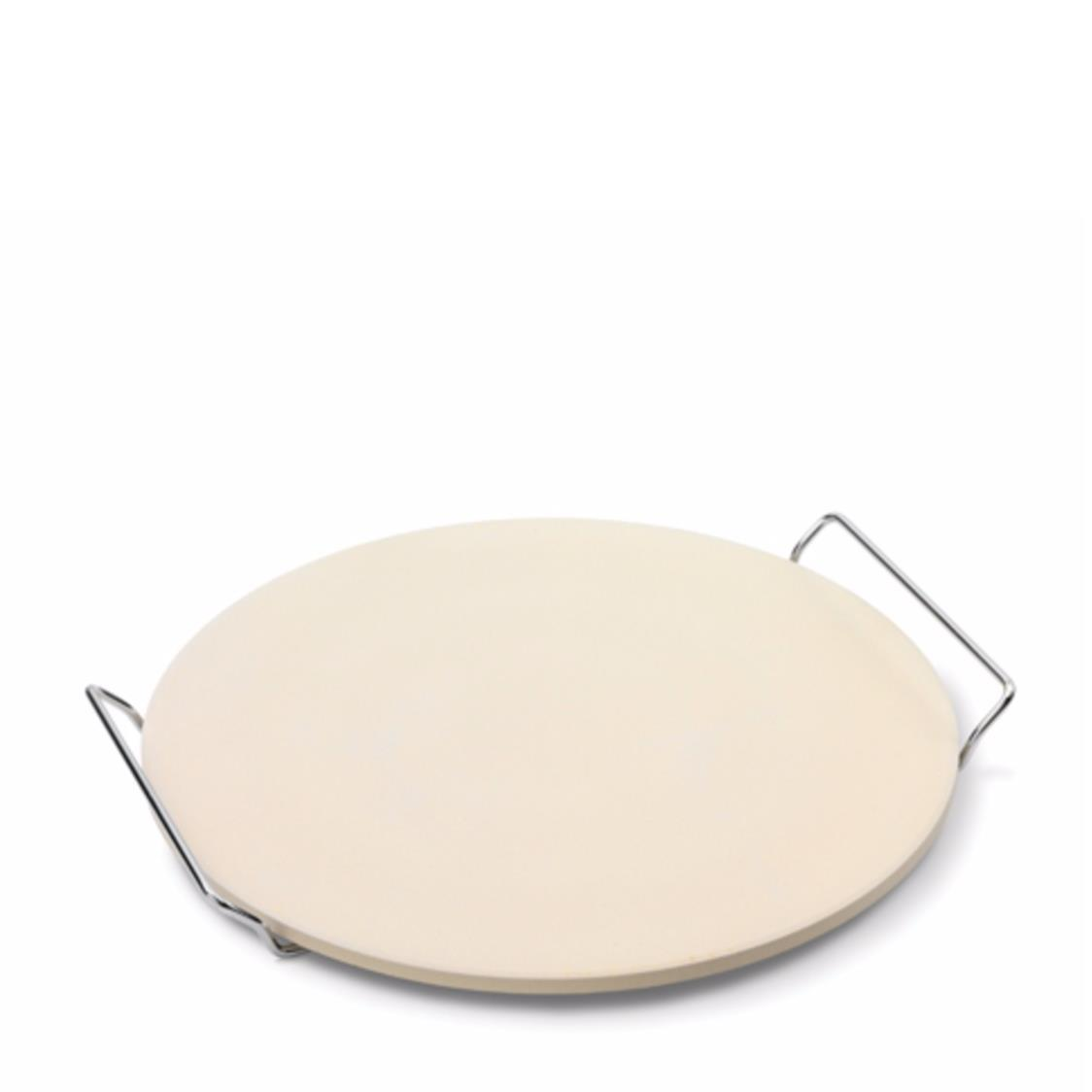 Pizza Stone WServing Rack