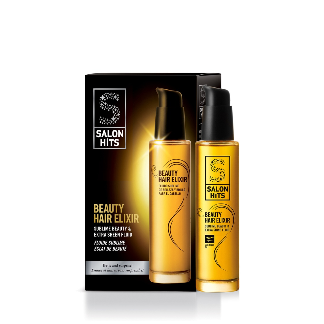 Salon Hits Beauty Hair Elixir Sublime Beauty  Extra Shine Fluid
