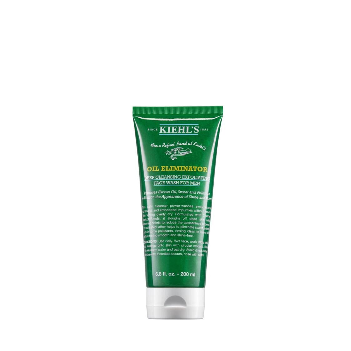 Mens Oil Eliminator Deep Cleansing Exfoliating Face Wash 200ml