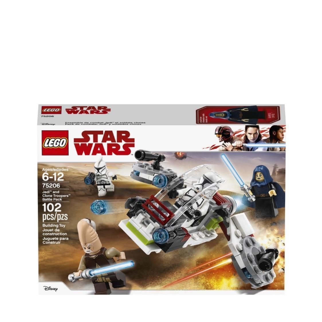 Jedi and Clone Troopers Battle Pack 75206