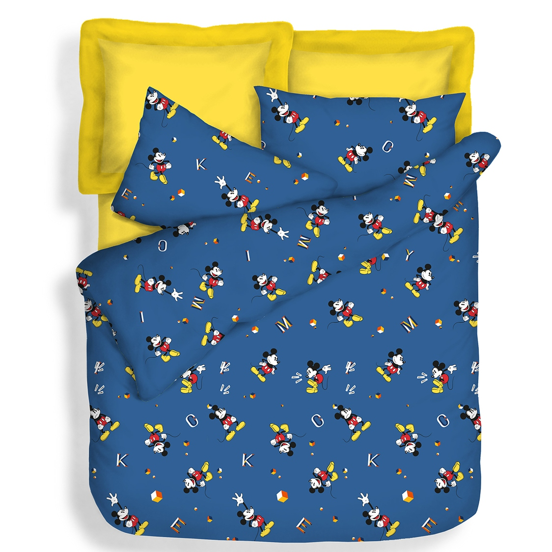Mickey Fitted Sheet Set