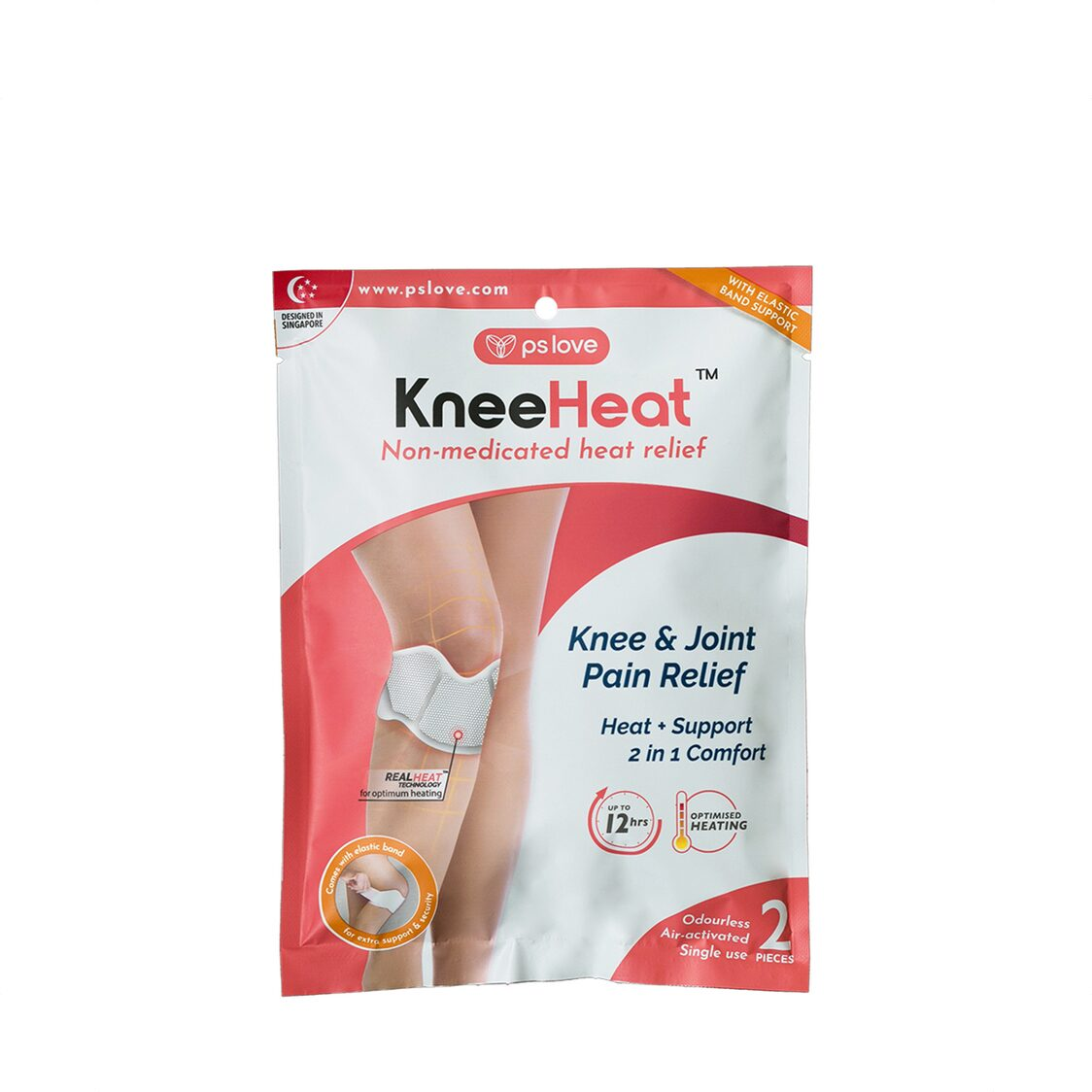 KneeHeat Knee Pain Relief Wrap 2s