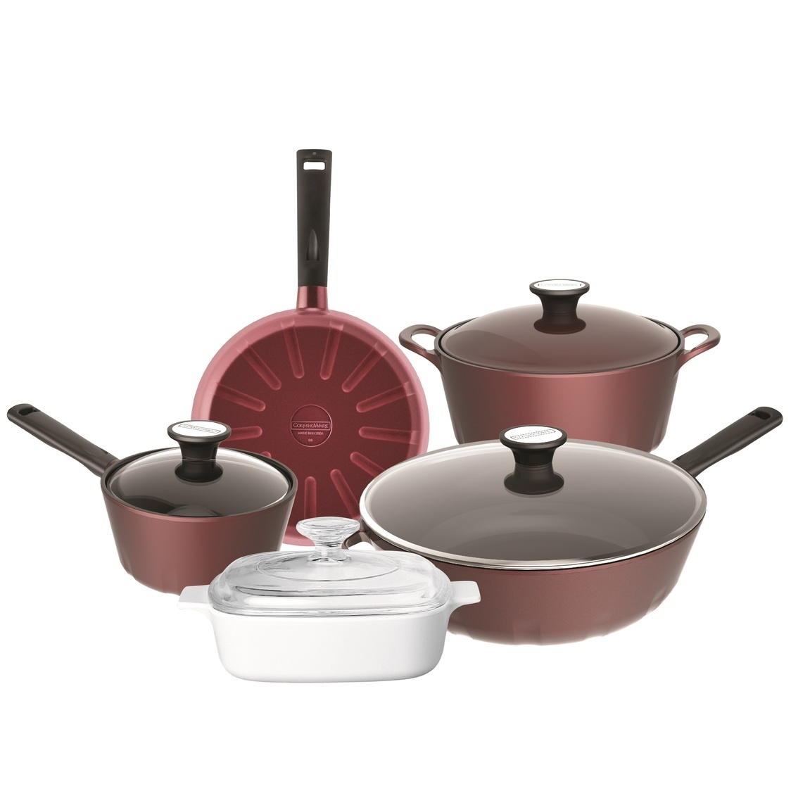 Red Ruby 5pc Set