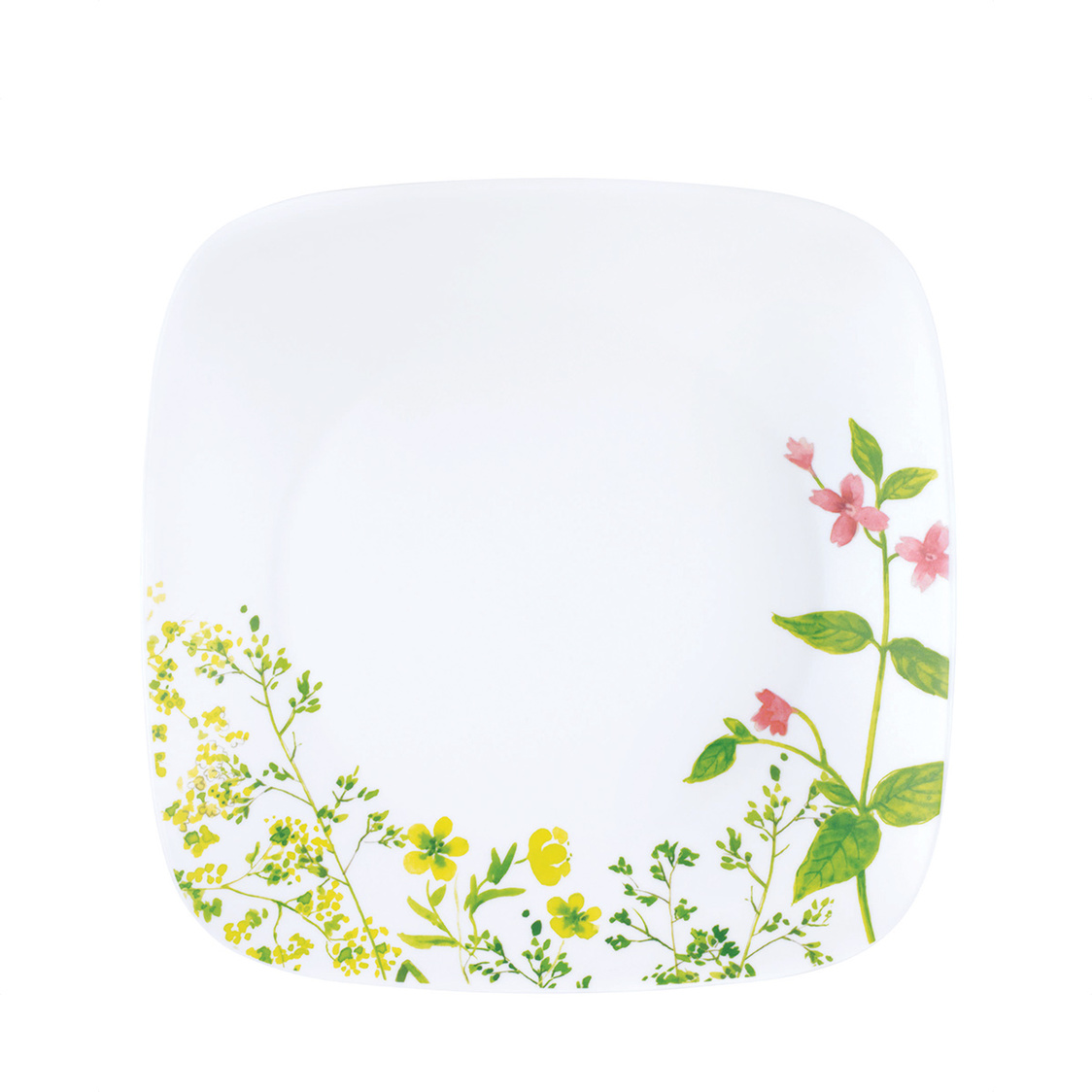 Square Round Dinner Plate Provence Garden