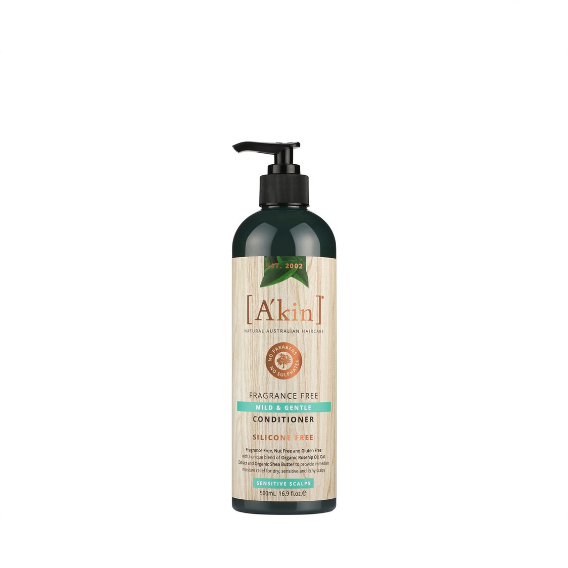 Fragrance Free Mild  Gentle Conditioner 500ml