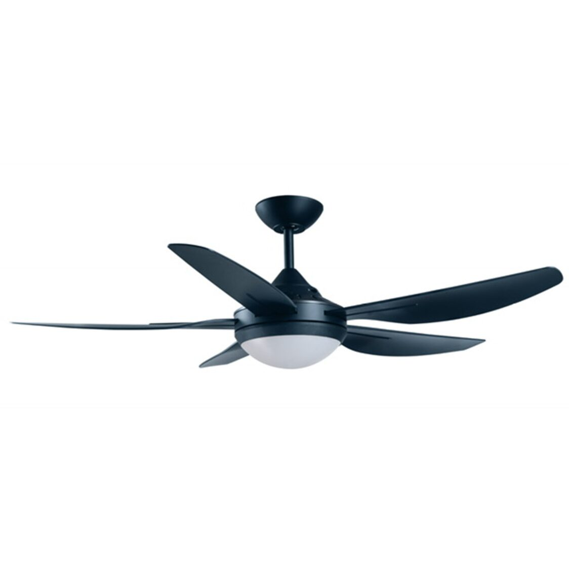 Mandurah Ceiling Fan With Remote And Tri-Color Led Light Kit Black 48