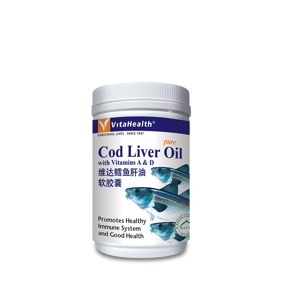 Cod Liver Oil 500Softgels