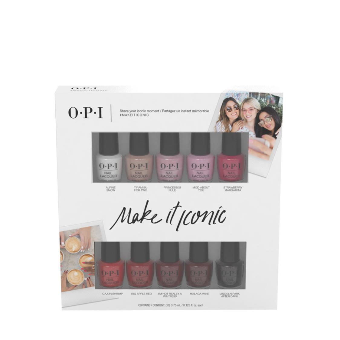 Icon Nail Lacquer Mini 10pack 18iv