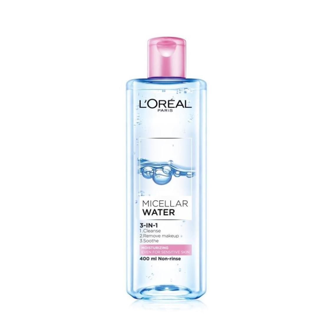 Micellar Water Moisturizing Pink 400ml