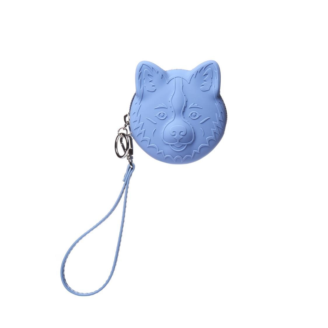 Silicone Coin Pouch Blue
