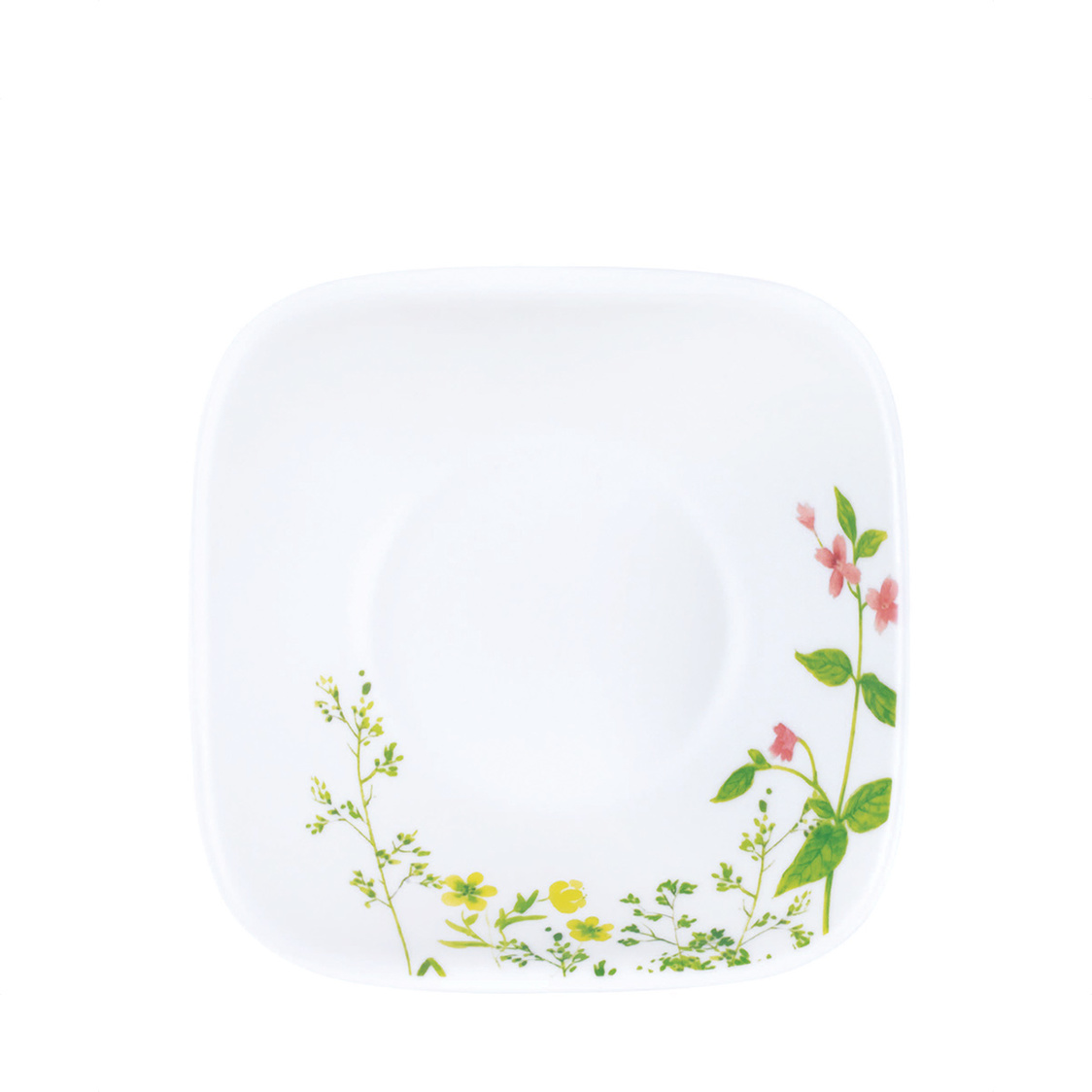 Square Round Serving Bowl Provence Garden