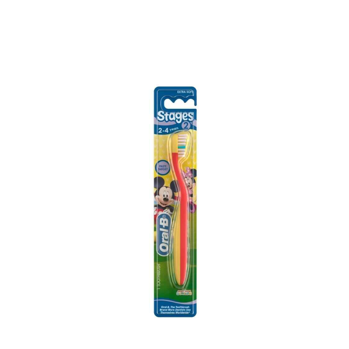 Oral B Stages 2 Toothbrush Mickey
