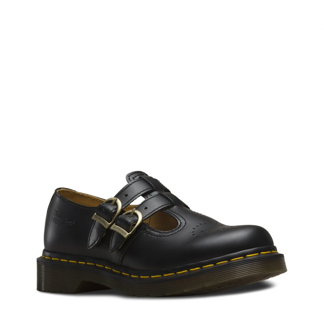 Dr Marten 8065 Smooth Leather Mary Jane Shoes