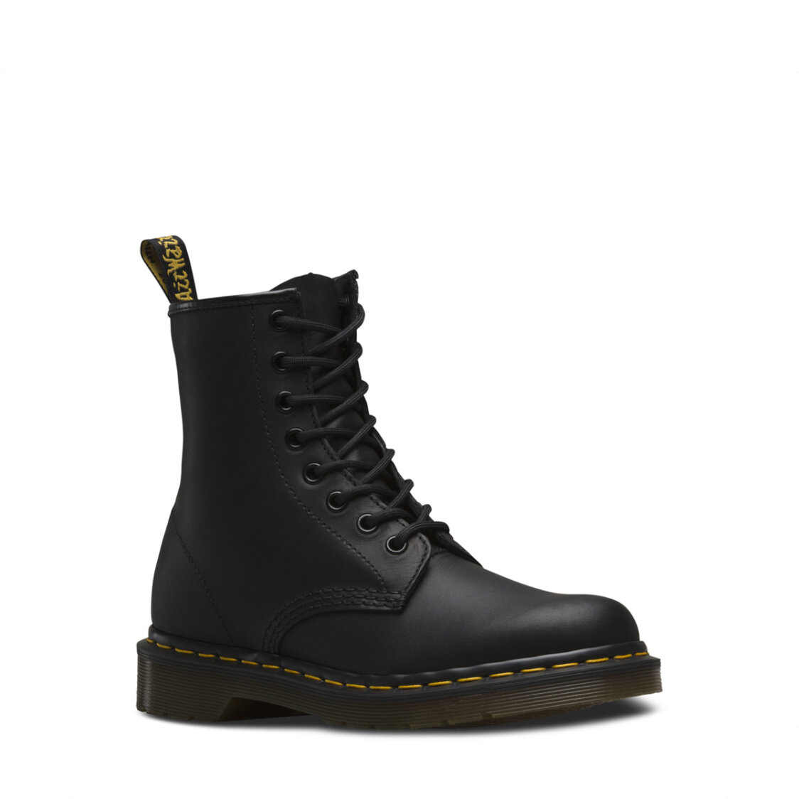 Dr Marten 1460 Greasy Leather 8 Eyelet Lace Up Boots