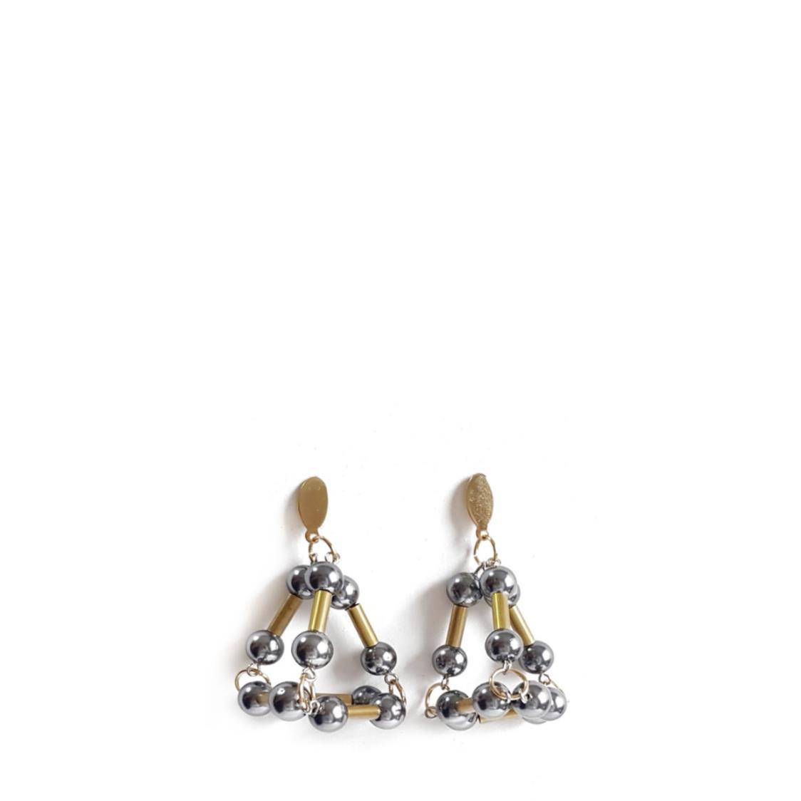 SETH Earrings GRAPHITE