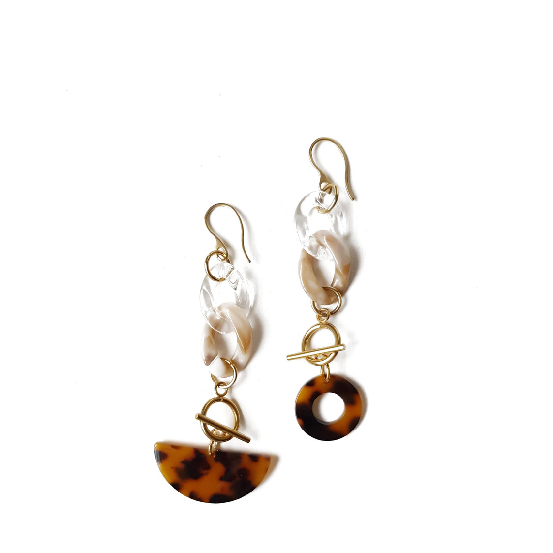 Arry Earrings Beige