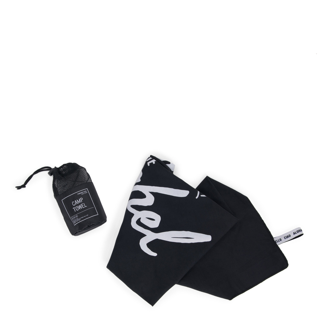 Camp Towel Black 10540-00001-OS