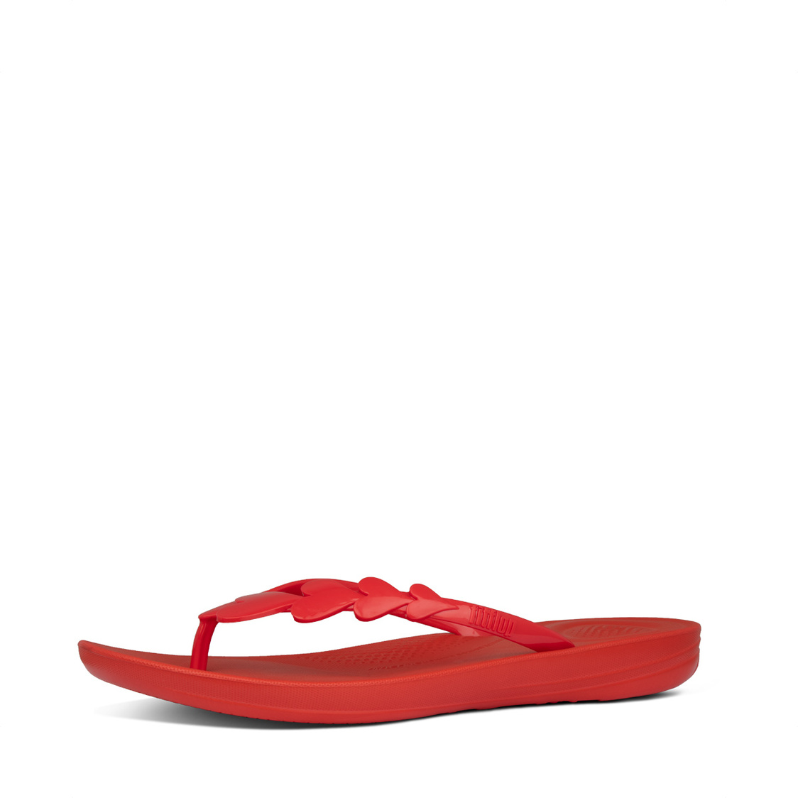 Fitflop iQushion Valentine Flip-Flops Red
