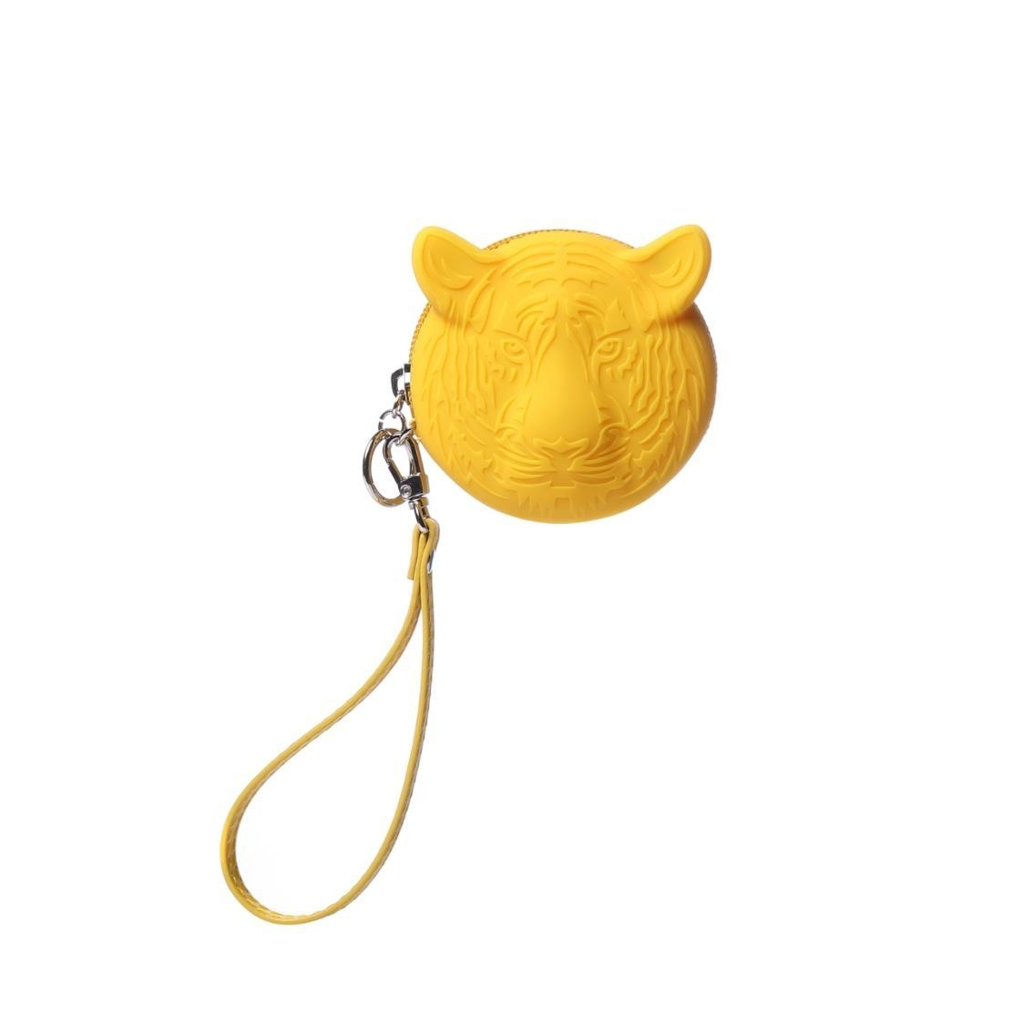 Silicone Coin Pouch Yellow
