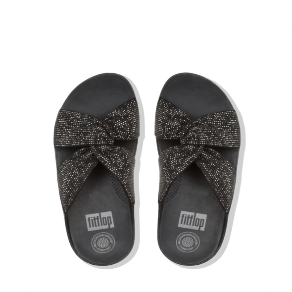 712f7cfc7 Twiss Crystal Slide Black