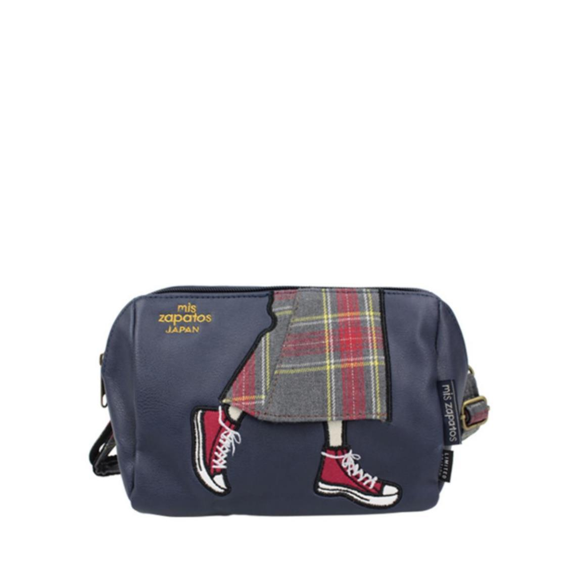 2-Way Use Jeans Skirt With Sneakers Slingbag
