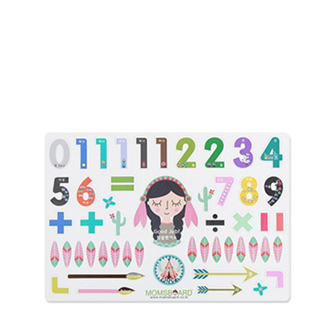 Magnetic Words - Clock and Numbers