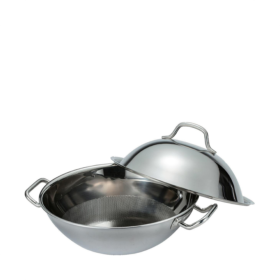 Pro-Chef 34cm Stainless Steel Wok