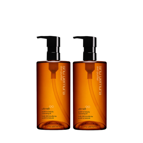 Limited Edition Ultime8 Sublime Beauty Cleansing Oil Duo Set